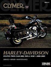 Clymer Service Manual Maintenance Repair Book Harley M423 FLX FXS Softtail