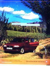1997 VAUXHALL 'Astra 1.6i Estate' Car ADVERT - Vintage Auto Print AD Original