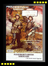 Free shipping Resin soldier warriors 35104 1/35 WWII Panzergrenadiers Normandy
