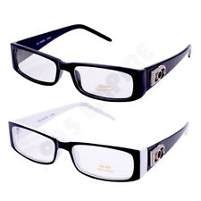 Men Women Clear Lens Rectangular Nerd Frames Glasses Designer*BOG*225