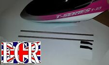 MJX T23  RC HELICOPTER PARTS & SPARES 2 TAIL BOOM SUPPORTS WITH  FITTINGS