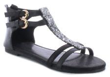 Calzado de niña sandalias de color principal plata