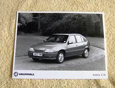 Vauxhall Astra Mk2 CD Press Photo x 3, 1991 Models