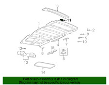 ( 1 ) GENUINE GM 10080354 DEFLECTOR - Rear Roof HVAC Air Outlet
