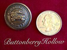"Burberry Button Equestrian Prorsum Metal Hollow Center 1"" Diameter"