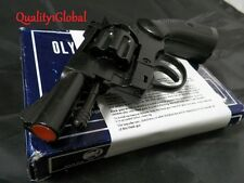 BRUNI ITALY METAL MOVIE PROP Pistol Replica Hand Gun Training DETECTIVE REVOLVER