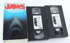 Jaws VHS Set Anniversary Collector's Edition Steven Spielberg Richard Dreyfuss