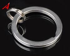 Stainless Steel Key Ring Keychain 25mm Split Ring for Surefire Fenix Flashlight