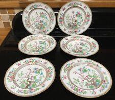 Minton Indian Tree Salad Plates Mid Nineteenth Century Pattern 4994 Early