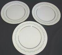 "Lenox Oxford USA Holyoke Set of 3 Dinner Plates 10 3/4"" - Bone China"
