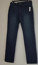 New Sonoma Women's Jeans Size 2 Mid Rise Curvy Stretch Straight Leg