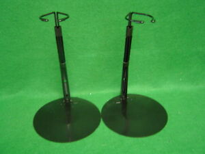 Doll Stands set of two Black Metal for16-26 inch Dolls and teddy bears