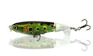 Whopper Plopper 90 style, 105mm 17g Topwater Popper Fishing Lure - Frog color