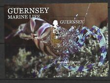 GUERNSEY 2014 MARINE LIFE (2nd SERIES) SG M/S 1524 MNH.
