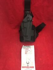 SAFARILAND Drop Leg Holster Black Right Hand Glock 6005-173 Ber 92
