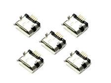 5 x Micro USB Typ B Stecker 5 Pin Steckverbinder Buchse