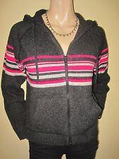 Zip Hip Length Lambswool Cardigans for Women
