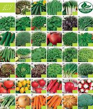 BIO Gemüse samen Kräuter 40 sorten saatgut Eco tomaten gurken bohnen petersilie