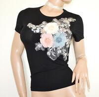T-SHIRT NOIR t-shirt femme underjacket à manches courtes en coton B15