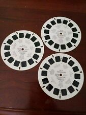 """""""Disneyland"""" View-master #A1771, A1791, A1782. 1956-1959 Used condition."""