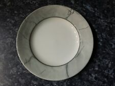 Churchill England plates grey marble type border design