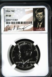 1964 Proof Kennedy Half - NGC PF 69
