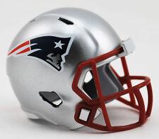 NEW NFL American Football Riddell SPEED Pocket Pro Helmet NEW ENGLAND PATRIOTS
