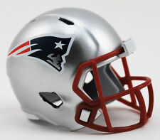 Nouveau nfl football américain riddell speed pocket pro casque new england patriots
