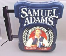 Electric Samuel Adams Boston Lager Everbrite Beer Sign Bar Sam lighted light