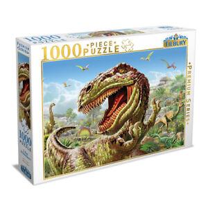 Tilbury Premium Series 1000 Piece Jigsaw Puzzle - T-Rex & Dinosaurs