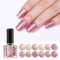 6ml BORN PRETTY Rose Gold Series Nail Polish  Pink Glitter Sequins Varnish