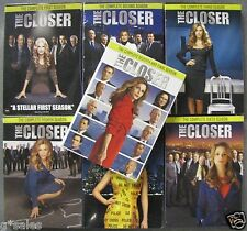 The Closer ~ Complete Series ~ Season 1-7 (1 2 3 4 5 6 & 7) ~ BRAND NEW DVD SETS