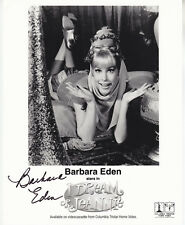 BARBARA EDEN hand signed 8x10 photograph photo autographed | I Dream of JEANNIE
