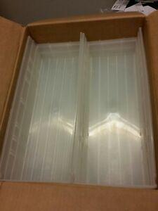 Quantum Storage Shelf Bin-17 7/8in x 6 5/8in x 4in Clear Carton of 20 #QSB104CL