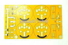 Diode Rectifier Filter Plate / Power Supply Filter Board / Bare PCB Yellow