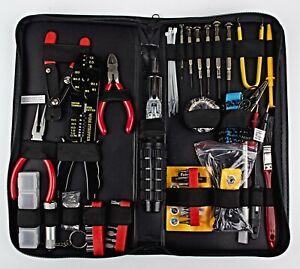 *Fellowes 55-Piece Computer Tool Kit in Black Vinyl Zipper Case 49106