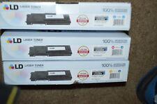 RAND NEW LD Laser Toner C2665 / C2660 Yellow, Cyan & Magenta