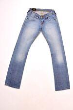 Ladies LEE MADDOX Blue Stonewash Jeans Size W26 L34 Uk8 Faded Flared *Free P&P*