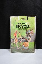 "Vintage CLYMER 1973 ""Fix Your Bicycle"" Repair & Maintenance Manual Guide"
