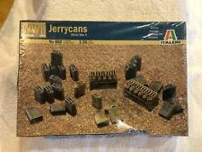 Italeri Jerrycans World War II Sealed Box 1/35 Scale Kit 402