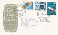 AFD2342) Australia 1968 FDC, PO Emblem, Set, green cachet, addressed