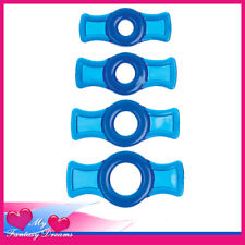 TITANMEN - 4 PK STRETCHY SILICONE COCK RING SET MY FANTASY DREAMS SEXTOYS