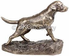 Labrador Statue on Point Hunting Dog Statue, Bronze Sculpture by Genesis Ireland