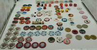 Large lot of Vintage Las Vegas Casino Gaming Poker Craps,Chips,Dice. Rare