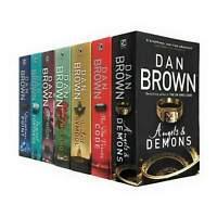 Dan Brown 7 Books Collection Set Robert Langdon Series Inferno, Origin, Digital