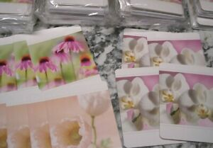 American Greeting Lot of 144 Blank Cards With Envelopes NEW Flowers 3 designs