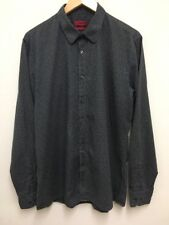 Men's Hugo Boss Elisha Shirt Long Sleeved Shirt Size XL Slim Fit