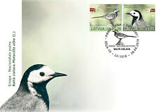 Eiropa CEPT 2019 Latvia / LETTLAND - bird stamp White wagtail FDC