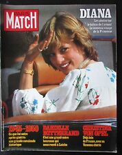 PARIS MATCH 1981  LADY DIANA PHOTOS LUNE DE MIEL CHRISTINA VON OPEL GUERRE 1945