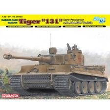 "Dragon #6820 1/35 Tiger I ""131"" s.Pz.Abt.504 Tunisia (Smart Kit)"